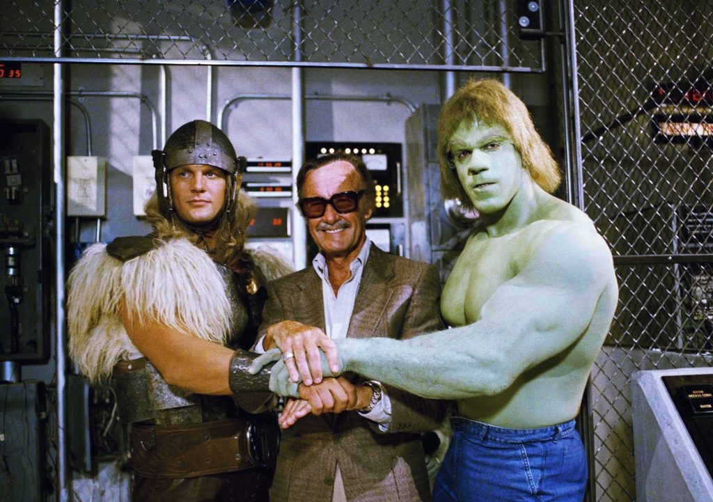 Stan Lee the Hulk