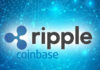 Ripple XRP on Coinbase
